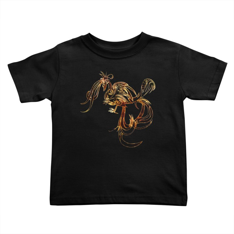Phoenix Kids Toddler T-Shirt by ysfaye's Shop