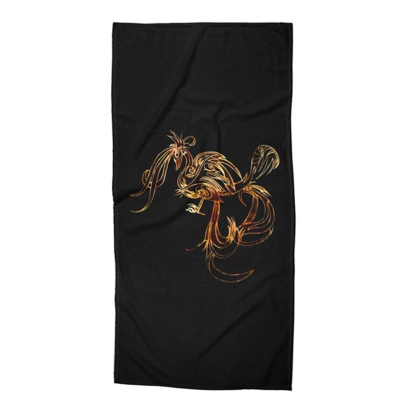Phoenix Accessories Beach Towel by ysfaye's Shop