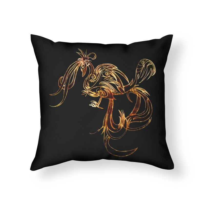Phoenix Home Throw Pillow by ysfaye's Shop