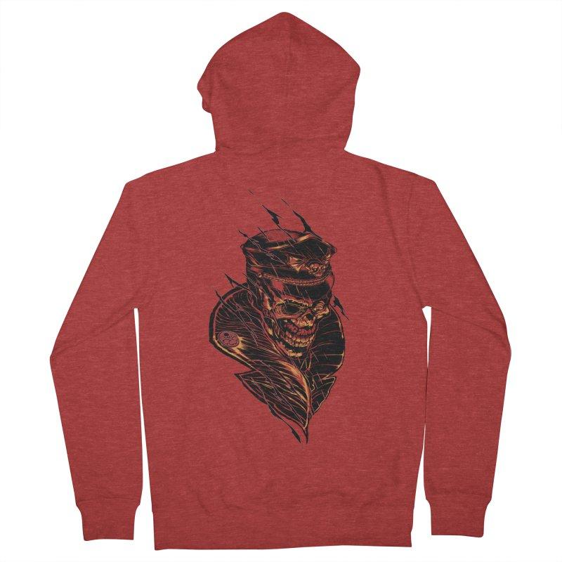 Red Skull Women's Zip-Up Hoody by Yucaballero Shop