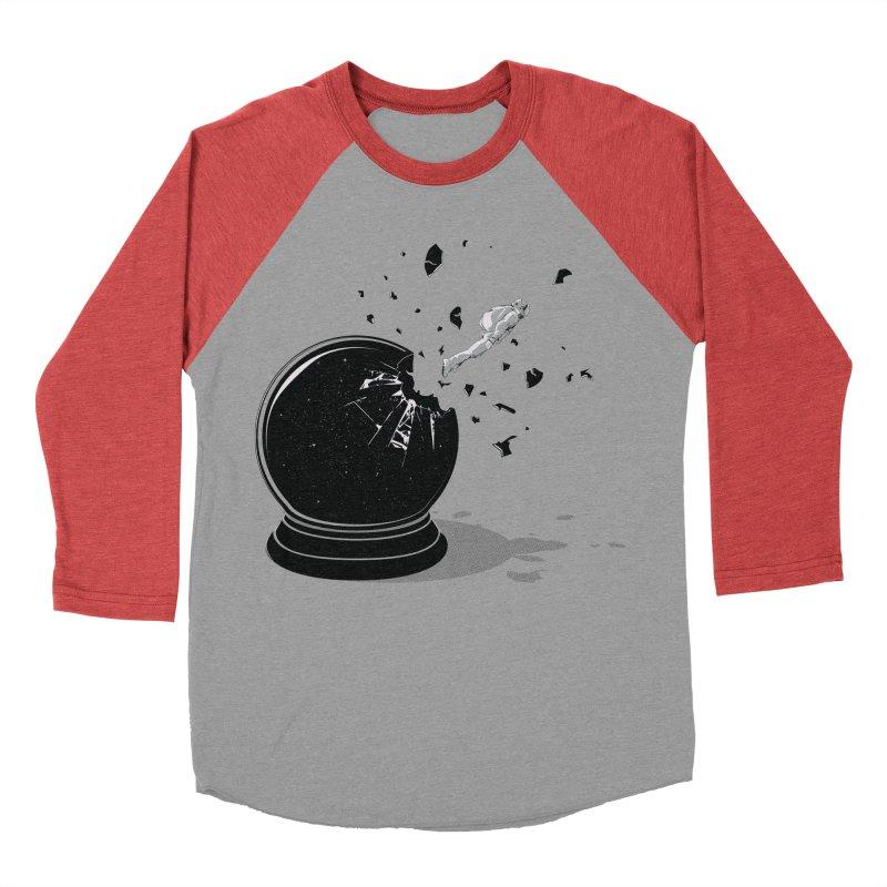 Beyond the Globe Men's Baseball Triblend T-Shirt by yurilobo's Artist Shop