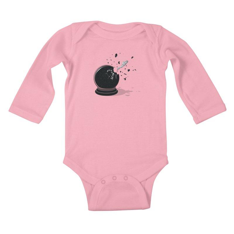 Beyond the Globe Kids Baby Longsleeve Bodysuit by yurilobo's Artist Shop