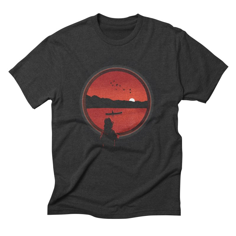 Carpe Diem Men's Triblend T-shirt by yurilobo's Artist Shop
