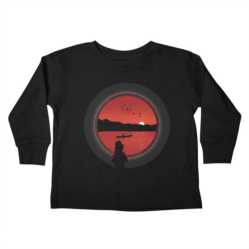 Carpe Diem Kids Toddler Longsleeve T-Shirt by yurilobo's Artist Shop