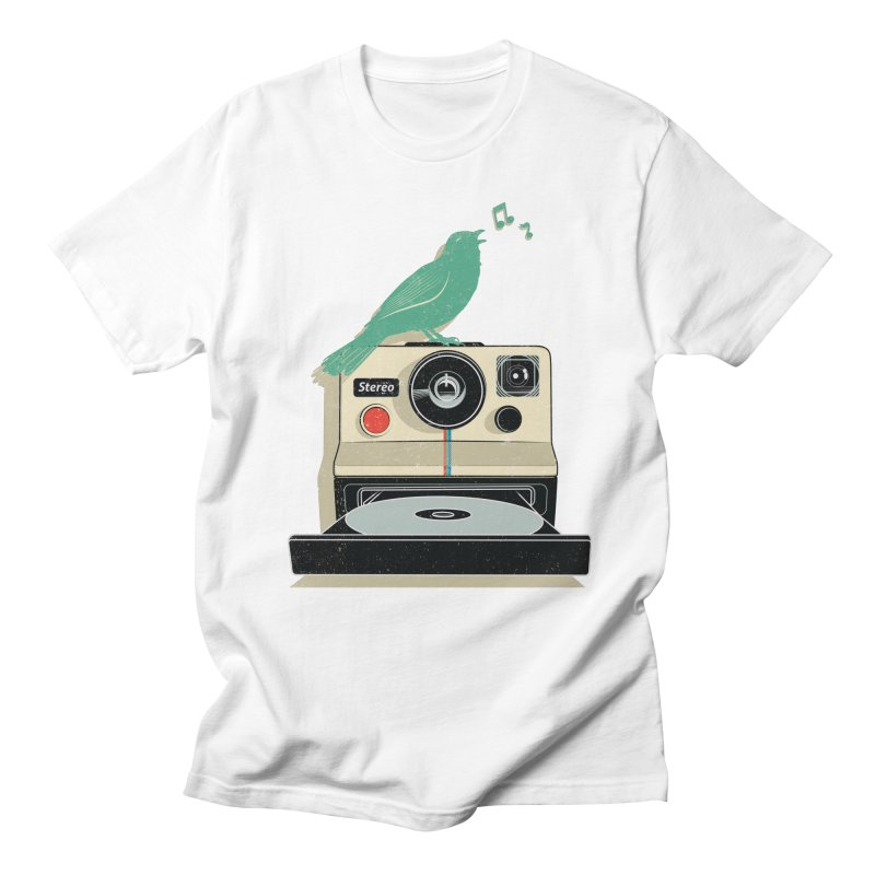Stereo Memories Men's Regular T-Shirt by yurilobo's Artist Shop