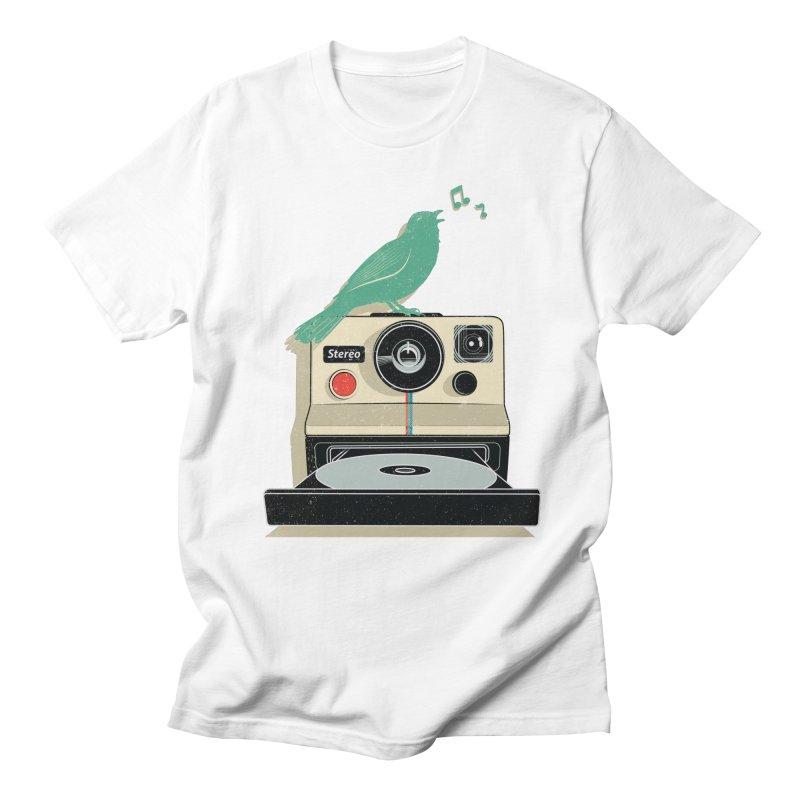 Stereo Memories Men's T-shirt by yurilobo's Artist Shop