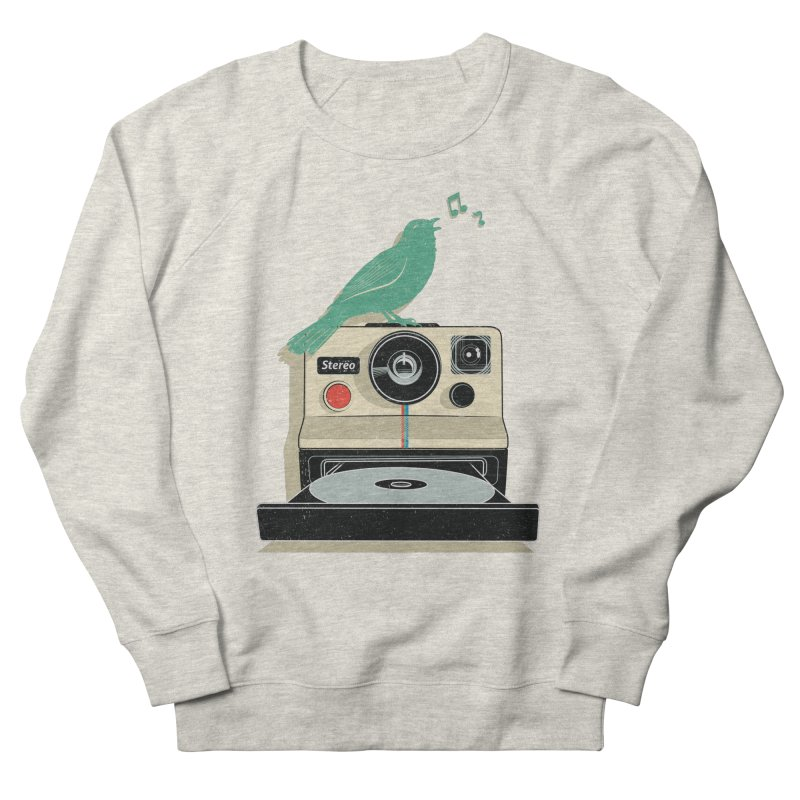 Stereo Memories Men's Sweatshirt by yurilobo's Artist Shop