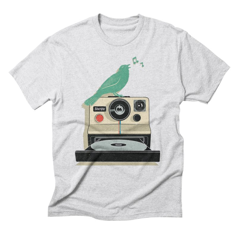 Stereo Memories Men's Triblend T-Shirt by yurilobo's Artist Shop