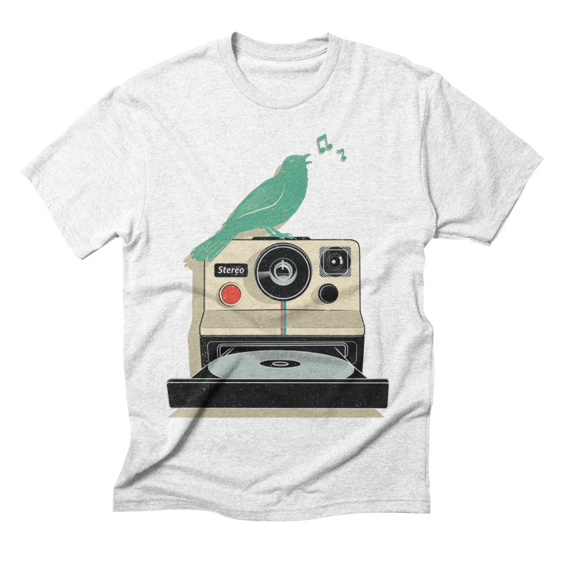 Stereo Memories Men's Triblend T-shirt by yurilobo's Artist Shop