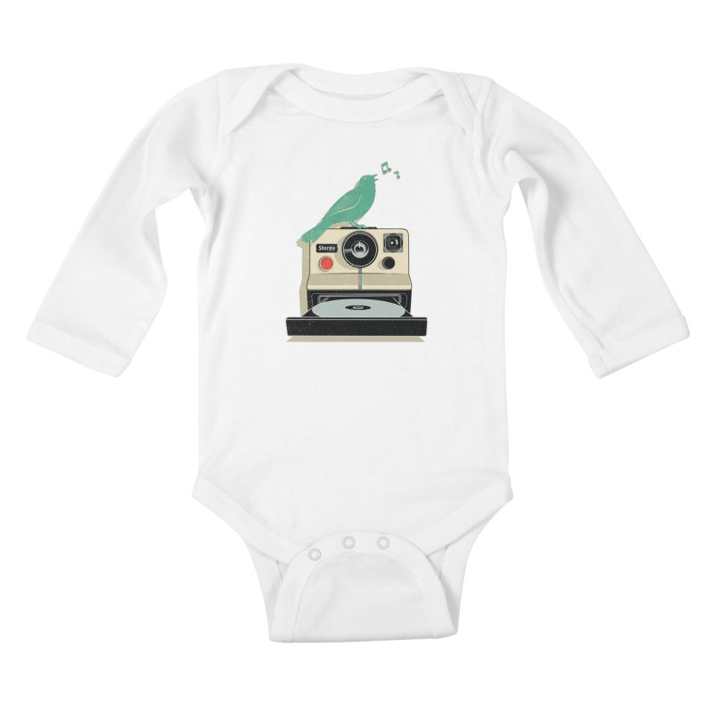 Stereo Memories Kids Baby Longsleeve Bodysuit by yurilobo's Artist Shop