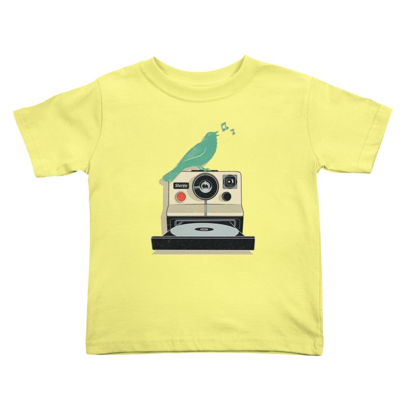 Stereo Memories Kids Toddler T-Shirt by yurilobo's Artist Shop