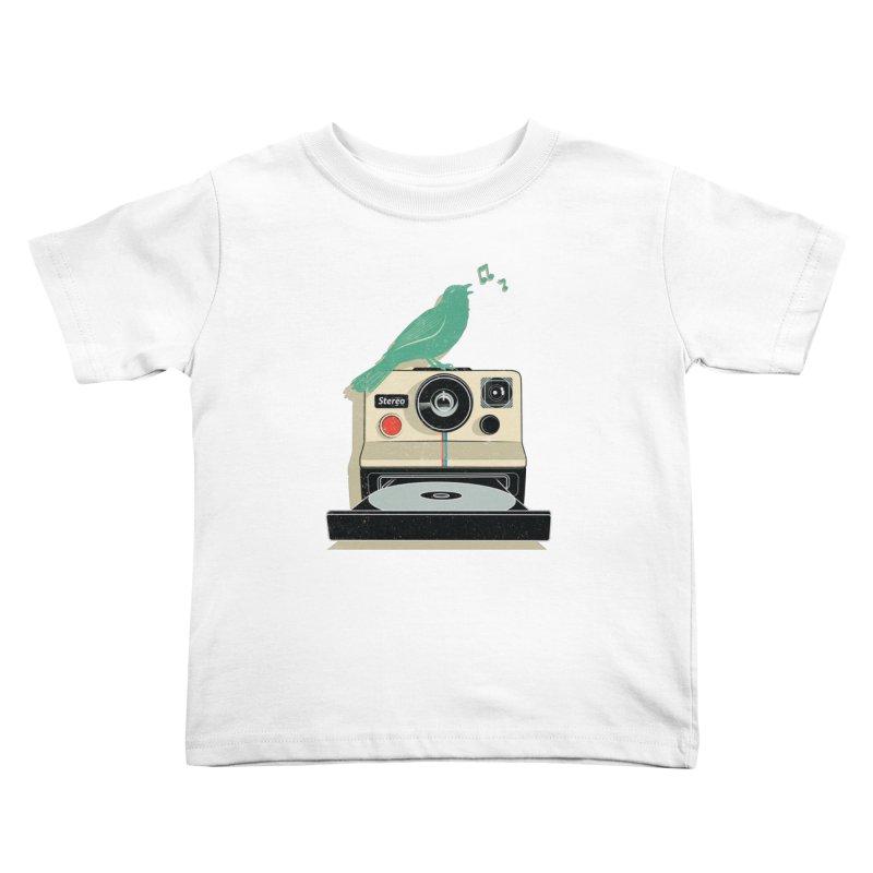 Stereo Memories Kids Toddler T-Shirt by yurilobo's Artist Shop