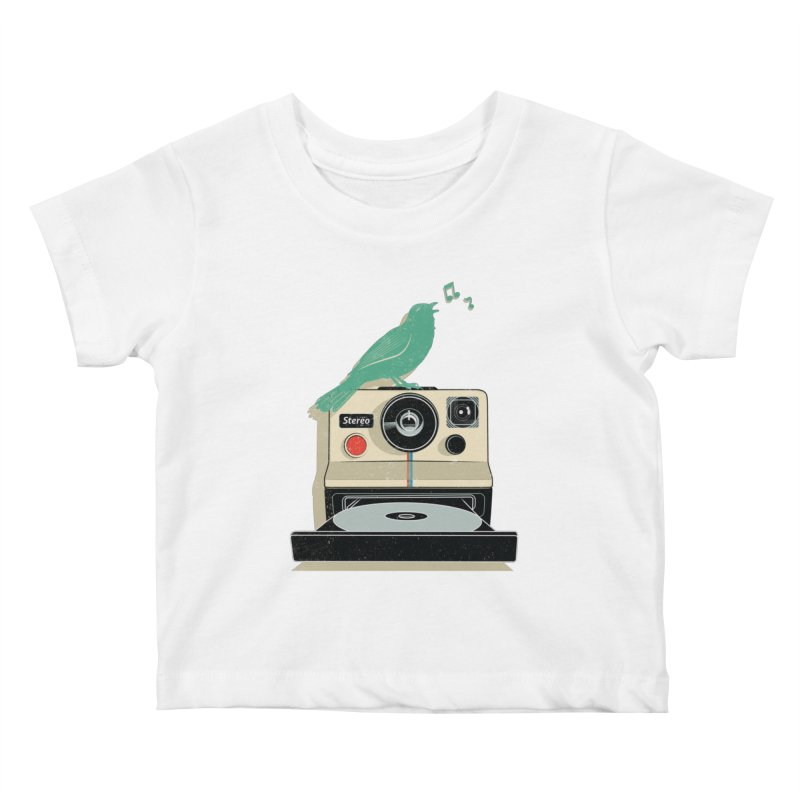 Stereo Memories Kids Baby T-Shirt by yurilobo's Artist Shop