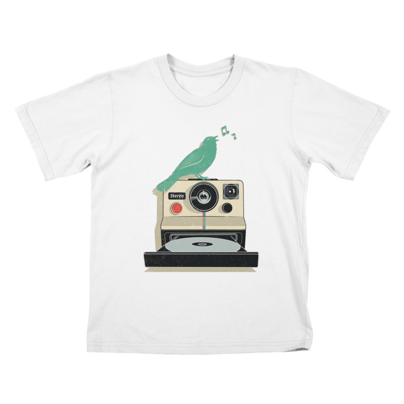 Stereo Memories Kids T-Shirt by yurilobo's Artist Shop