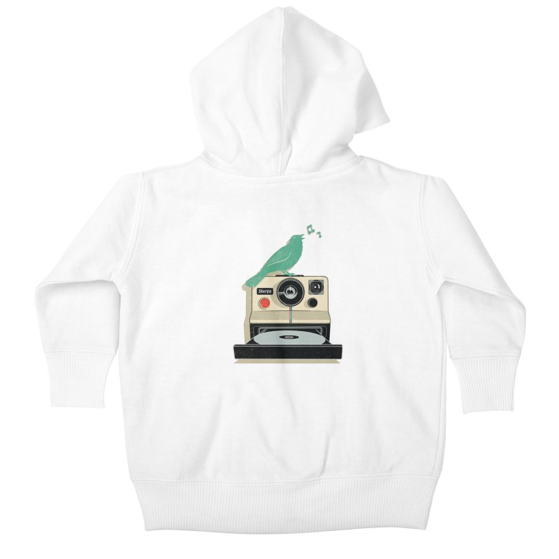 Stereo Memories Kids Baby Zip-Up Hoody by yurilobo's Artist Shop