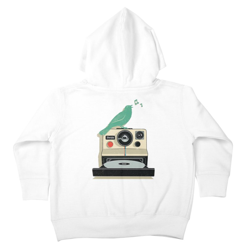 Stereo Memories Kids Toddler Zip-Up Hoody by yurilobo's Artist Shop