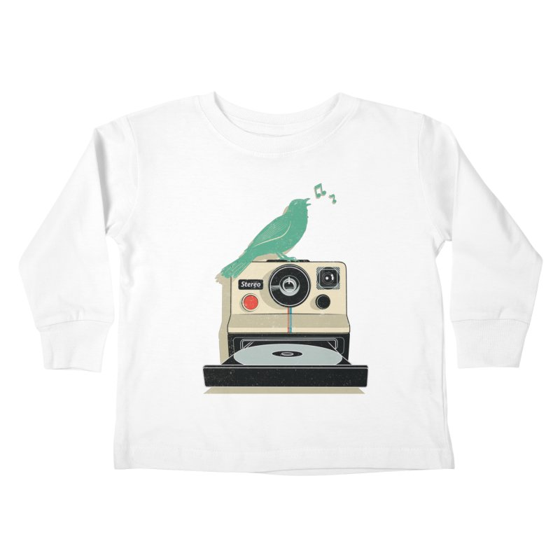 Stereo Memories Kids Toddler Longsleeve T-Shirt by yurilobo's Artist Shop