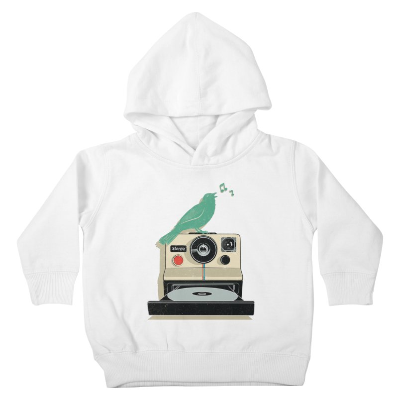 Stereo Memories Kids Toddler Pullover Hoody by yurilobo's Artist Shop