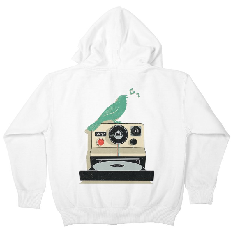 Stereo Memories Kids Zip-Up Hoody by yurilobo's Artist Shop