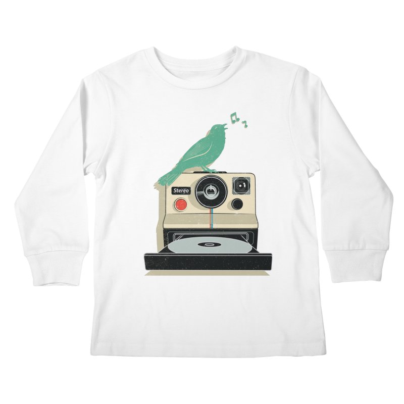 Stereo Memories Kids Longsleeve T-Shirt by yurilobo's Artist Shop