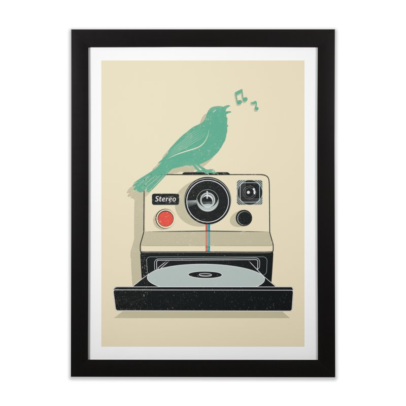Stereo Memories Home Framed Fine Art Print by yurilobo's Artist Shop