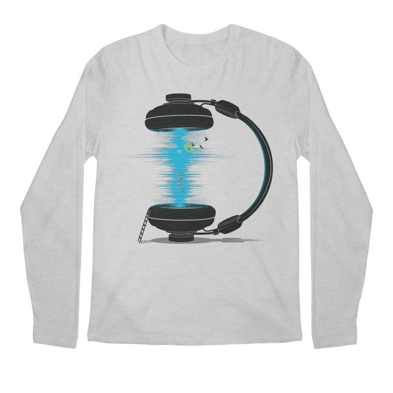 Music is a Portal Men's Longsleeve T-Shirt by yurilobo's Artist Shop