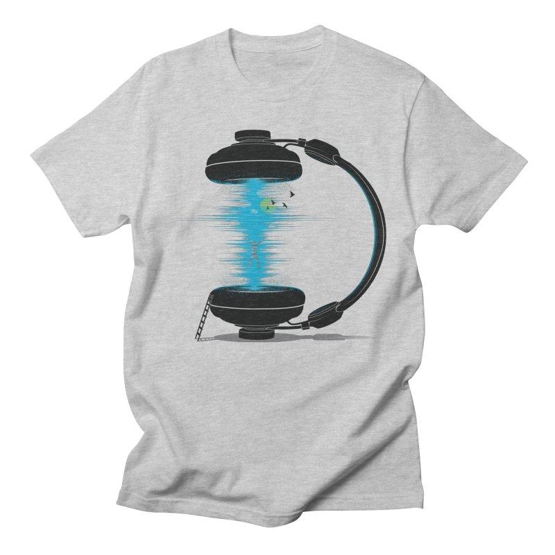 Music is a Portal Men's T-shirt by yurilobo's Artist Shop