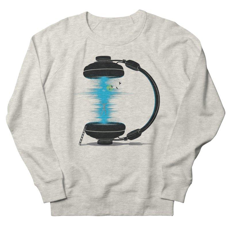 Music is a Portal Women's French Terry Sweatshirt by yurilobo's Artist Shop