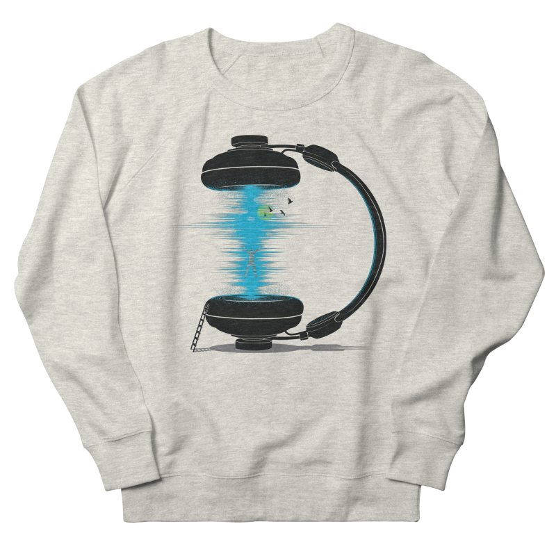 Music is a Portal Men's Sweatshirt by yurilobo's Artist Shop