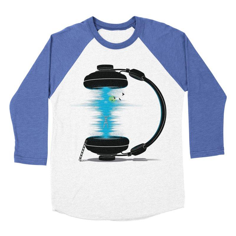 Music is a Portal Women's Baseball Triblend T-Shirt by yurilobo's Artist Shop