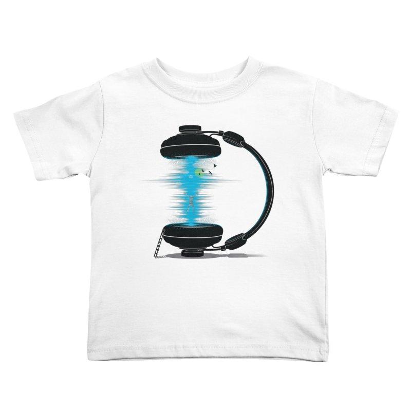 Music is a Portal Kids Toddler T-Shirt by yurilobo's Artist Shop