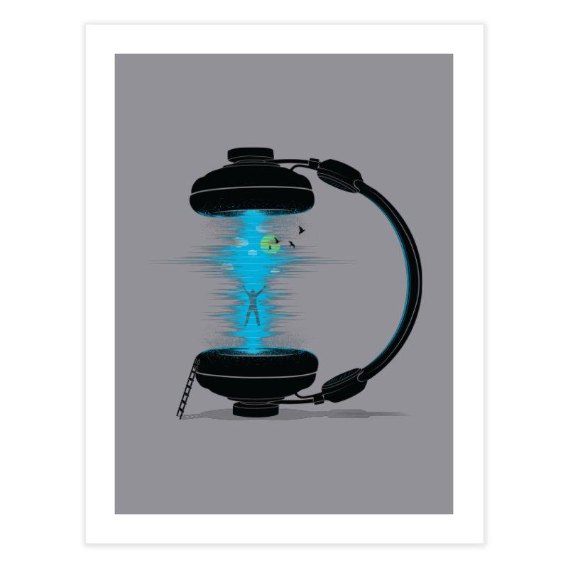 Music is a Portal Home Fine Art Print by yurilobo's Artist Shop