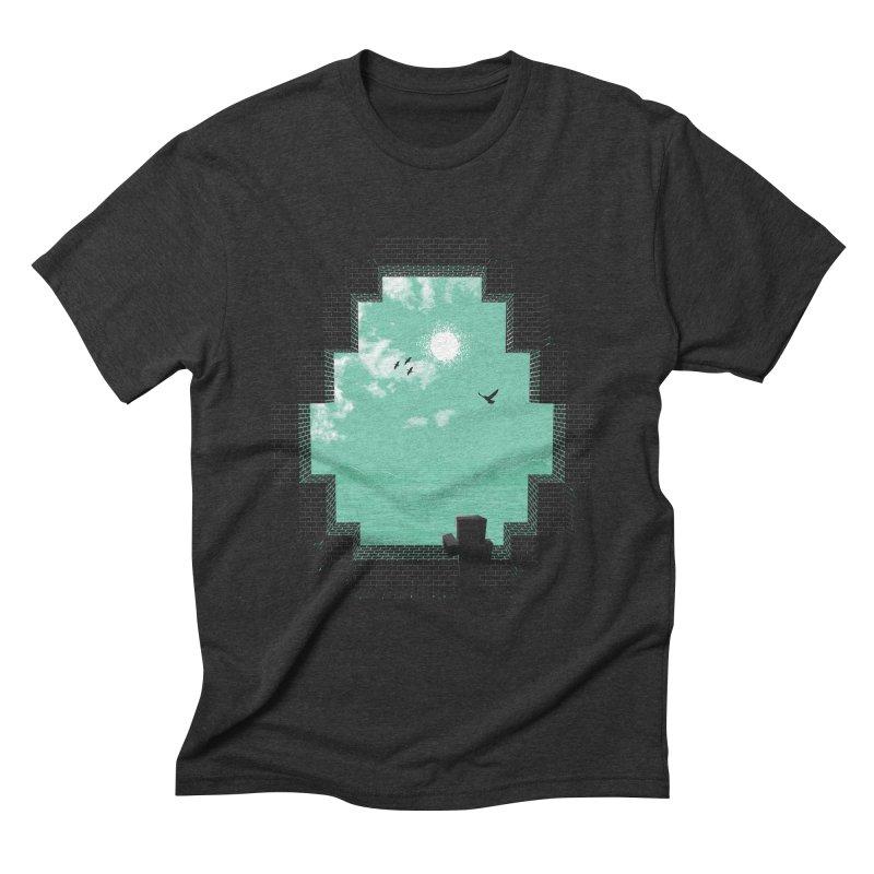 Precious Life Men's Triblend T-shirt by yurilobo's Artist Shop