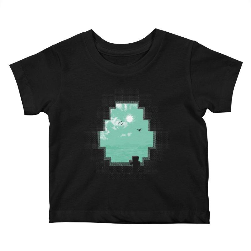 Precious Life Kids Baby T-Shirt by yurilobo's Artist Shop