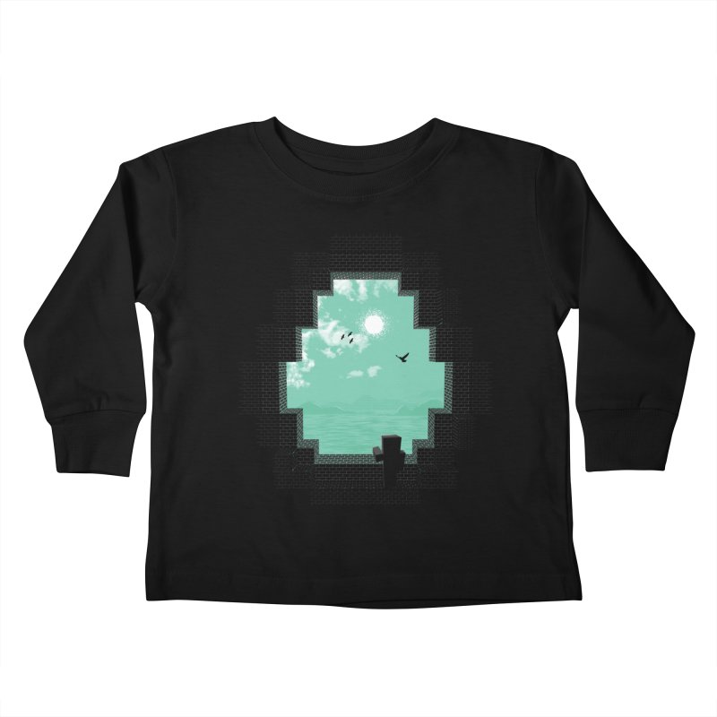 Precious Life Kids Toddler Longsleeve T-Shirt by yurilobo's Artist Shop