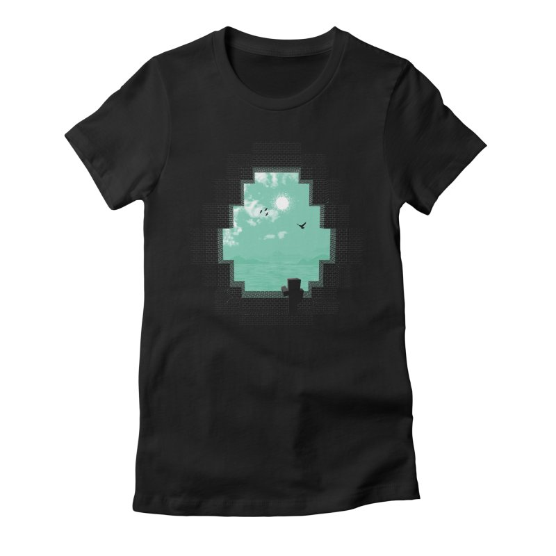 Precious Life Women's Fitted T-Shirt by yurilobo's Artist Shop
