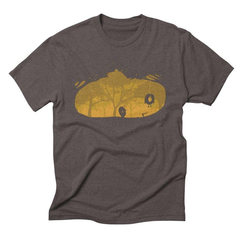 Tired of Living Men's Triblend T-shirt by yurilobo's Artist Shop