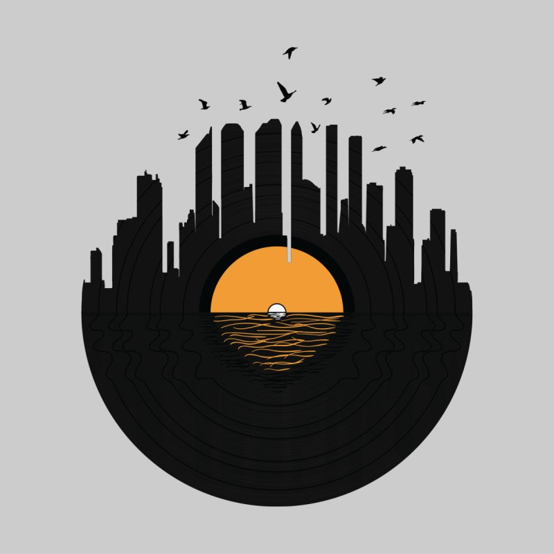 Vinyl City None  by yurilobo's Artist Shop