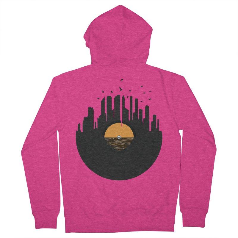 Vinyl City Women's Zip-Up Hoody by yurilobo's Artist Shop