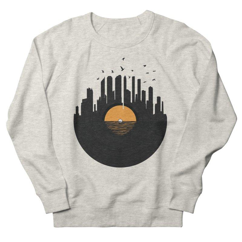 Vinyl City Women's Sweatshirt by yurilobo's Artist Shop