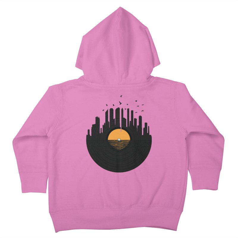 Vinyl City Kids Toddler Zip-Up Hoody by yurilobo's Artist Shop