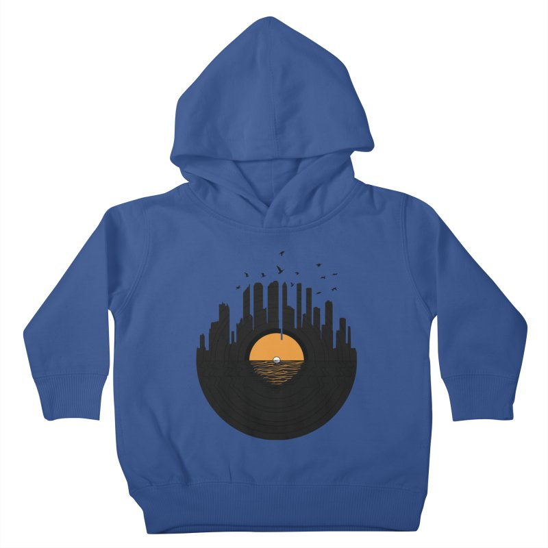 Vinyl City Kids Toddler Pullover Hoody by yurilobo's Artist Shop