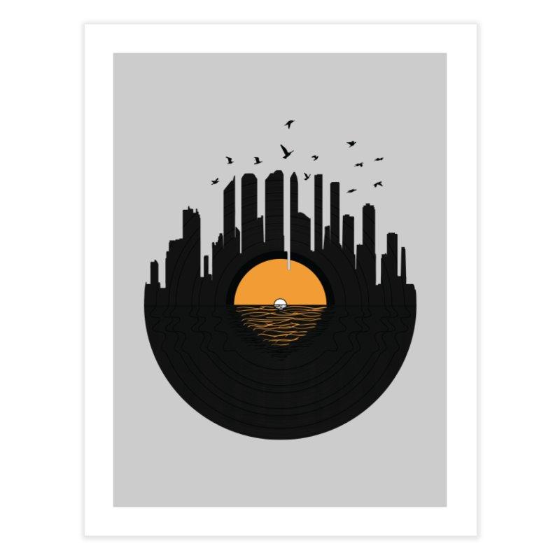 Vinyl City Home Fine Art Print by yurilobo's Artist Shop