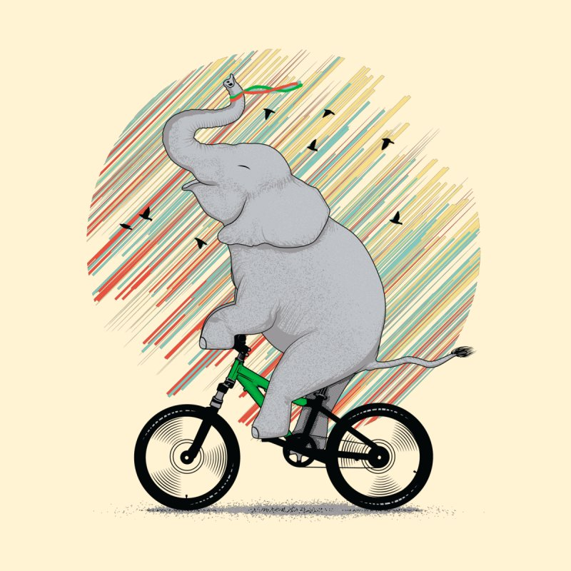 It's Like Riding a Bike by yurilobo's Artist Shop