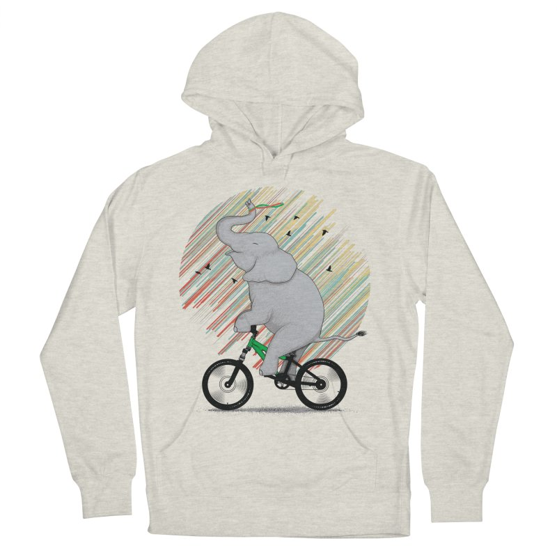 It's Like Riding a Bike Men's French Terry Pullover Hoody by yurilobo's Artist Shop