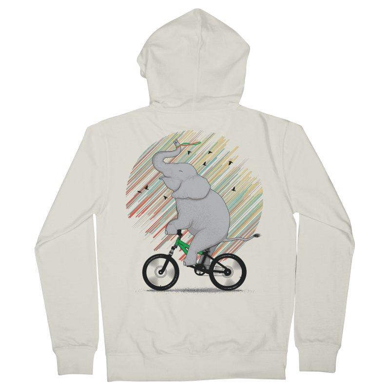 It's Like Riding a Bike Men's French Terry Zip-Up Hoody by yurilobo's Artist Shop