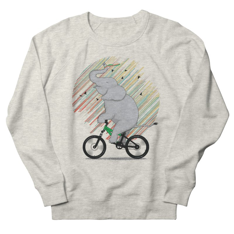 It's Like Riding a Bike Women's French Terry Sweatshirt by yurilobo's Artist Shop