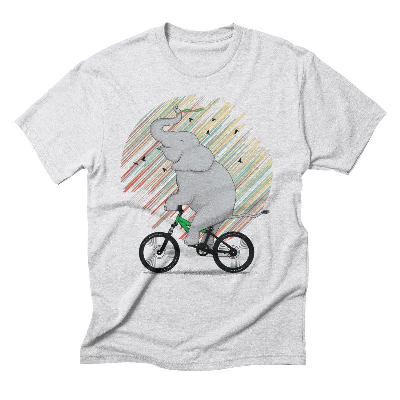 It's Like Riding a Bike Men's Triblend T-Shirt by yurilobo's Artist Shop