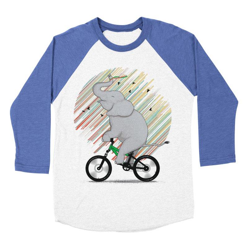 It's Like Riding a Bike Women's Baseball Triblend T-Shirt by yurilobo's Artist Shop
