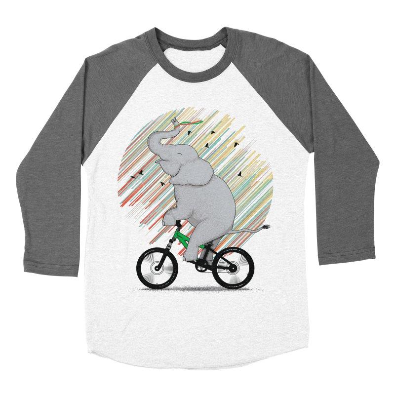 It's Like Riding a Bike Men's Baseball Triblend T-Shirt by yurilobo's Artist Shop